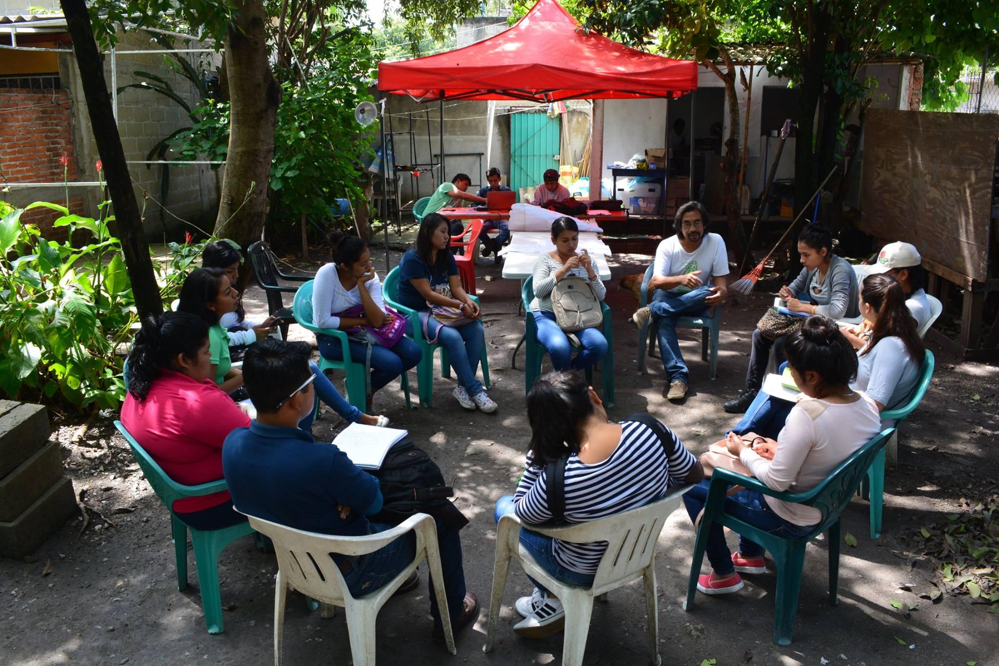 Reunión con jóvenes, Xoxocotla