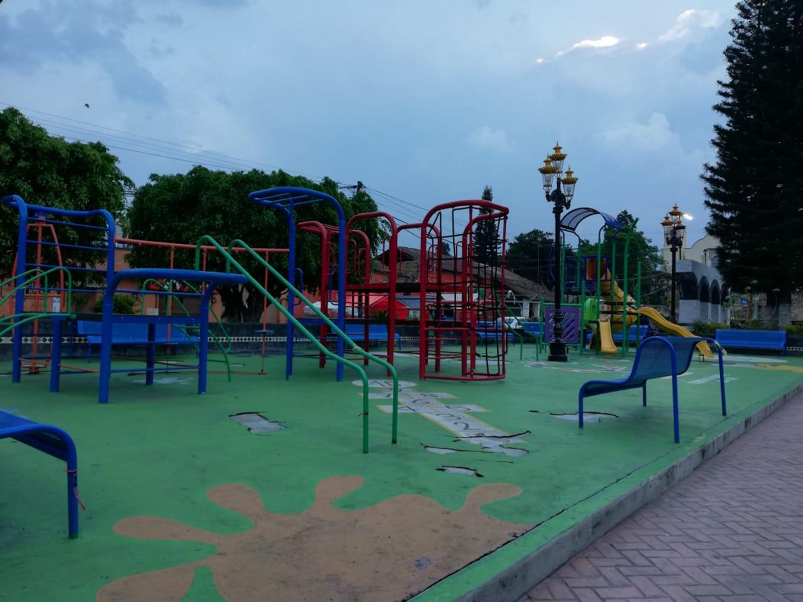 Parque en Ocuituco, Morelos