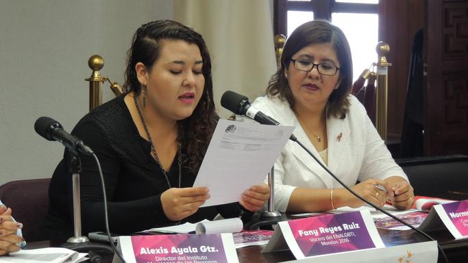 Anuncio del Encuentro Nacional de Activistas LGBTI, Morelos 2016 (Rueda de prensa)