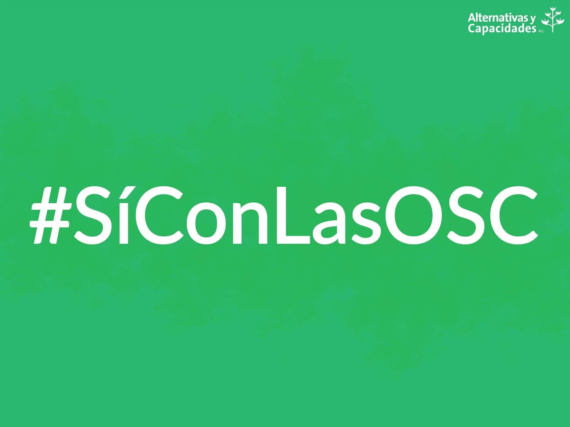 #SíConLasOSC
