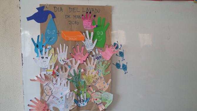Día mundial del lavado de mano