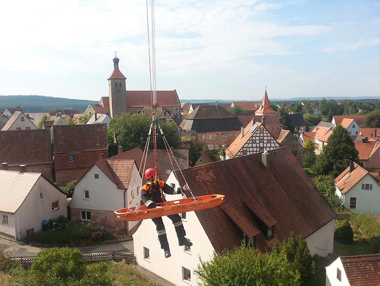 Über den Dächern von Nürnberg