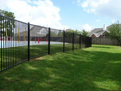 Rod Iron Fence Installation