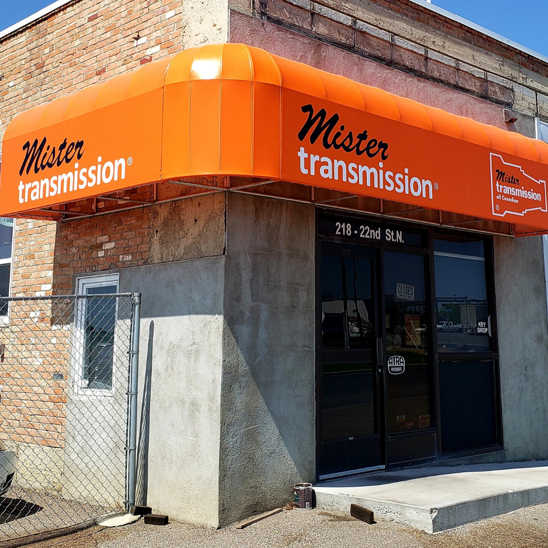 Mister Transmission Comercial Awning