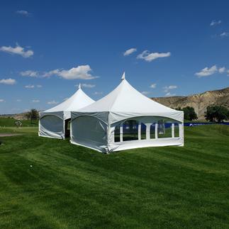 2 - 20' x 20' tents