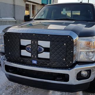 Custom Winter Front Truck