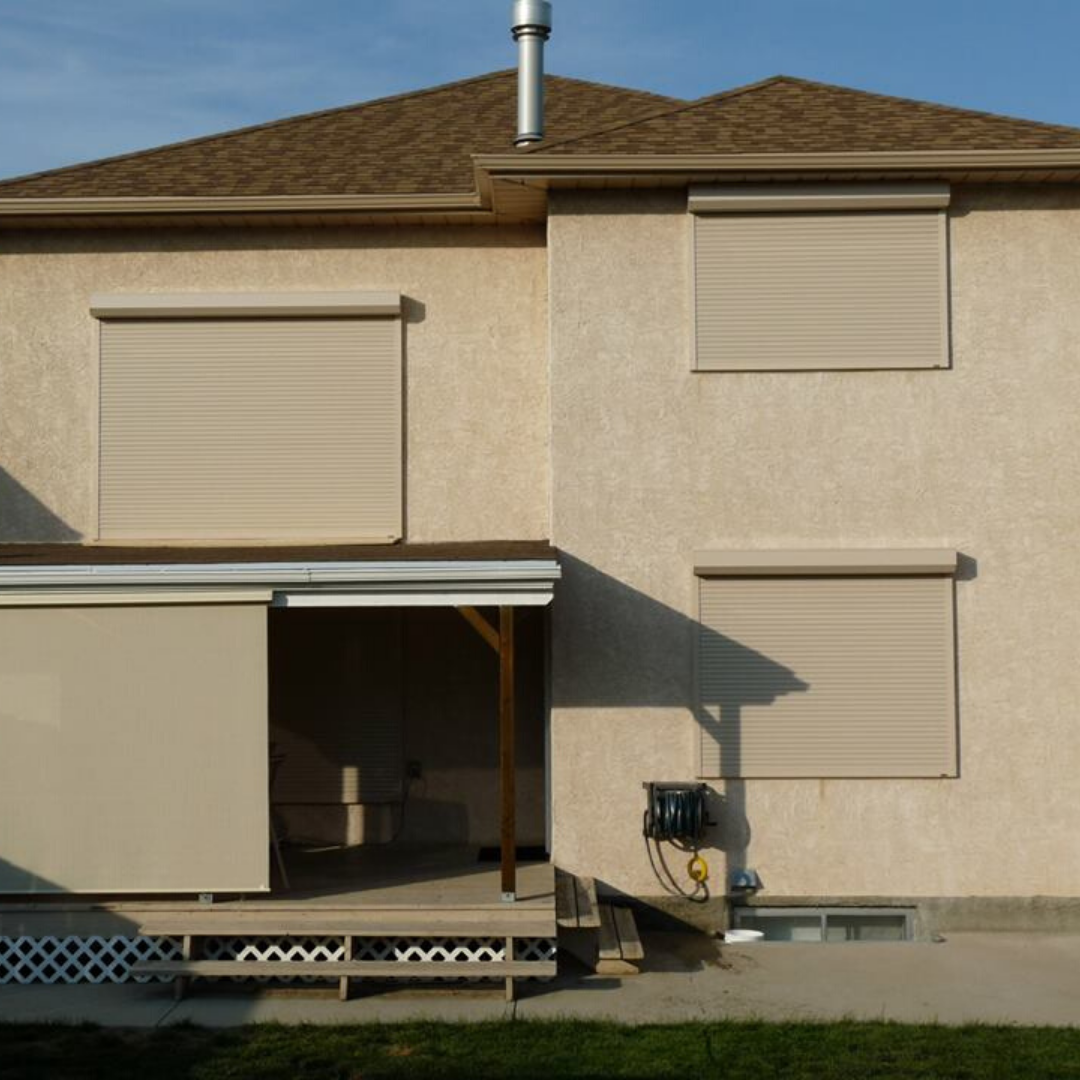 Roll Shutters for Home Security