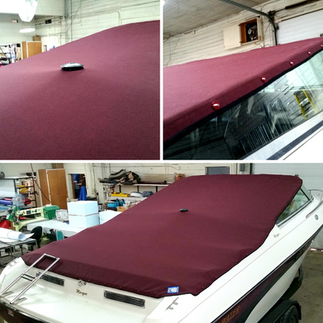 Burgandy Boat Cover