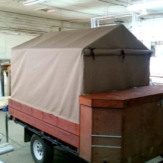 Custom Trailer Tent
