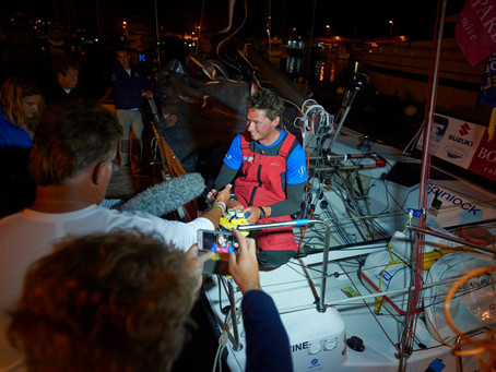Solitaire du Figaro 2015, Third time's the trick
