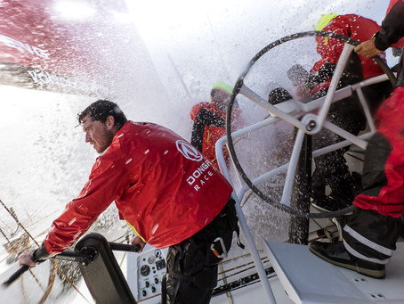 Stepping up to the Volvo Ocean Race
