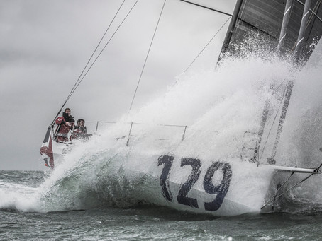 Jack Bouttell and Gildas Mahé forced to retire from Transat Jacques Vabre