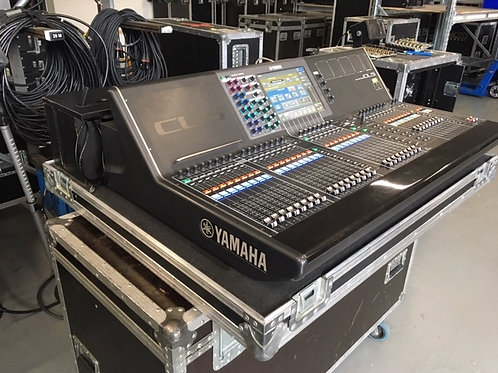 Used  Yamaha CL5 Mixing Console  1pcs RIO 3224-D