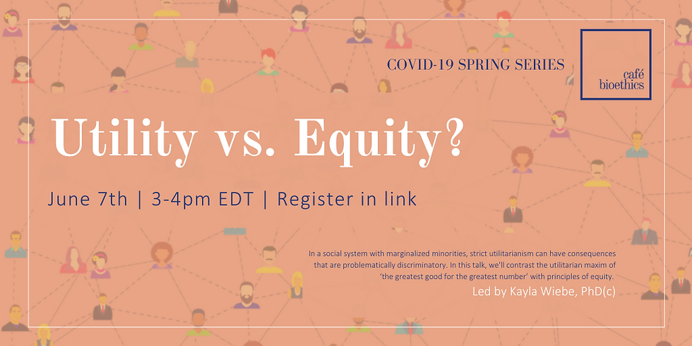 Utility vs. Equity?