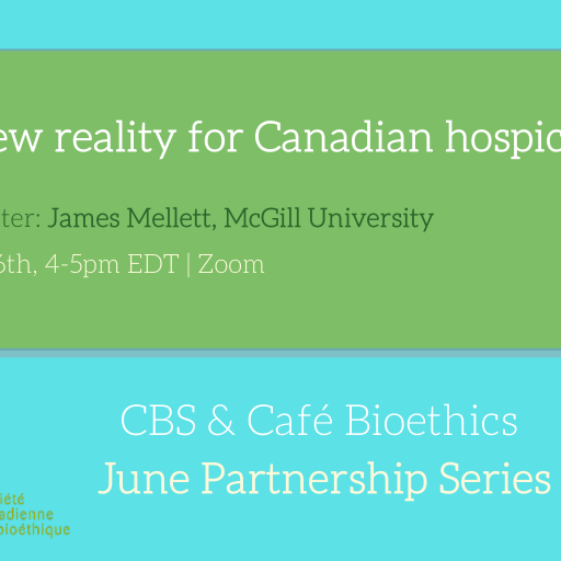 A new reality for Canadian hospice