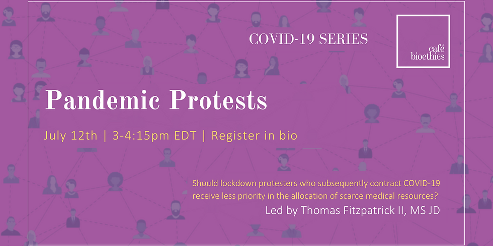 Pandemic Protests