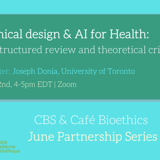 Ethical design & AI for Health: A structured review and theoretical critique