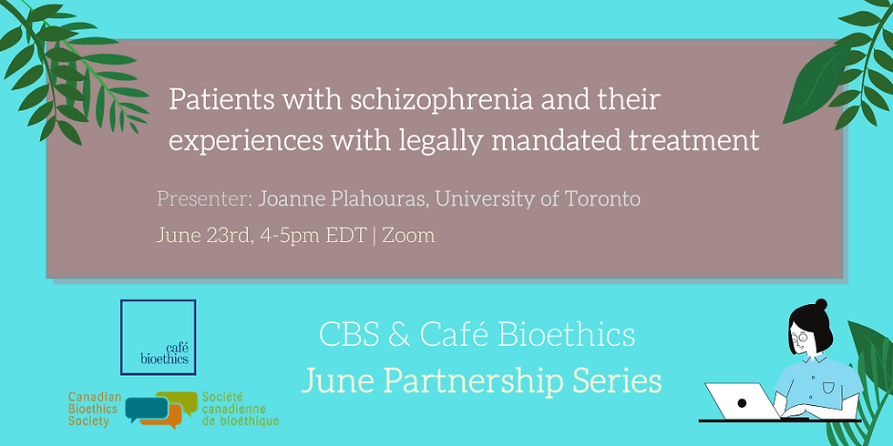 Patients with schizophrenia and their experiences with legally mandated treatment