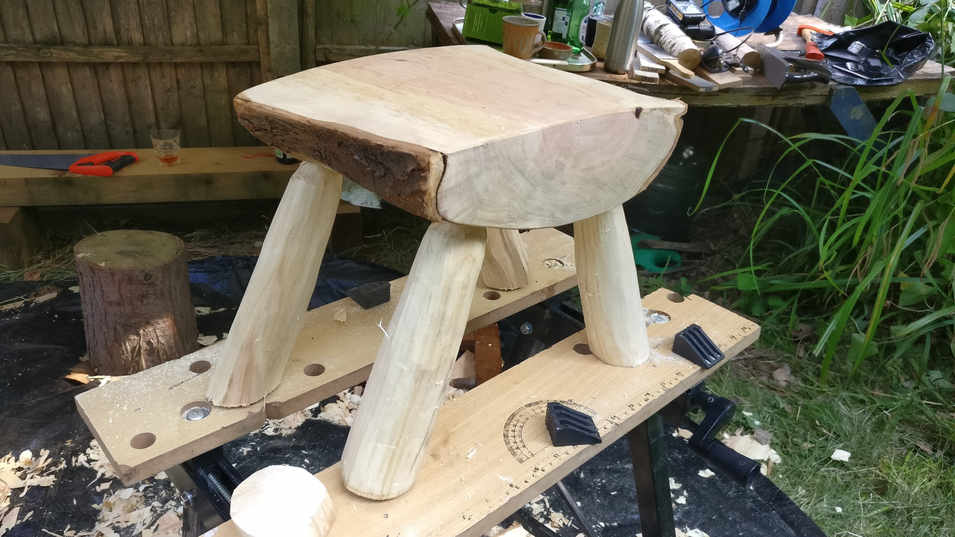 childs stool made with private cliant