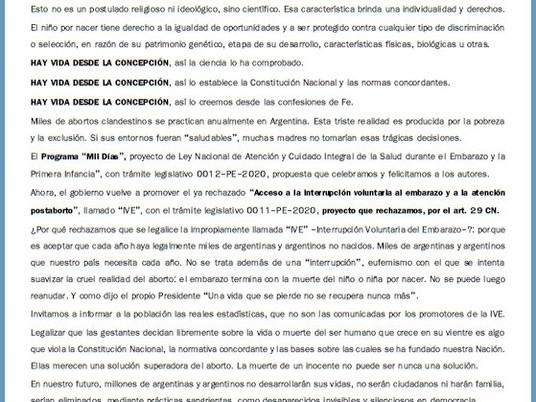 Mesa Federal de Pastores y Líderes de Argentina