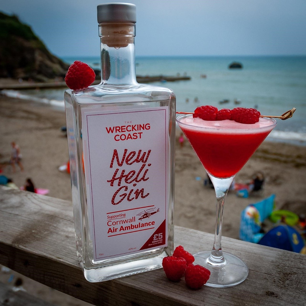 New cocktail supporting Cornwall Air Ambulance