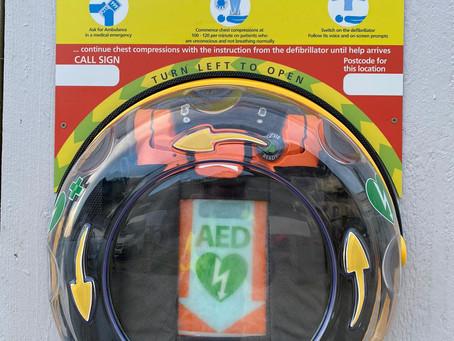 Our New Defibrillator - Defibs Near Looe