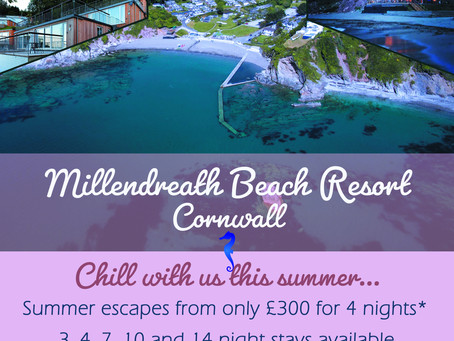Short Breaks in Cornwall - Millendreath Beach