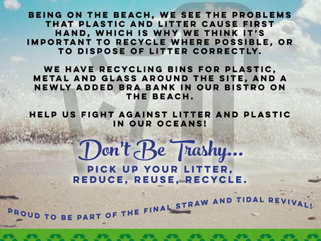 Help us to fight plastic in our oceans!