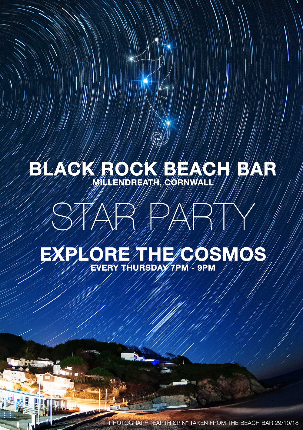 Star Party every Thursday from 9-11pm