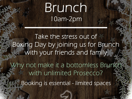 A fully booked brunch...