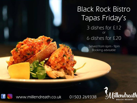 Mouth Watering Tapas Fridays!