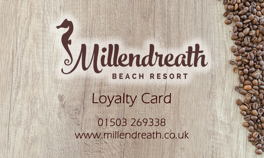 Coffee loyalty cards - Millendreath Bistro