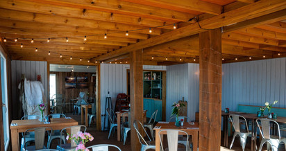 Inside our Bistro on the Beach