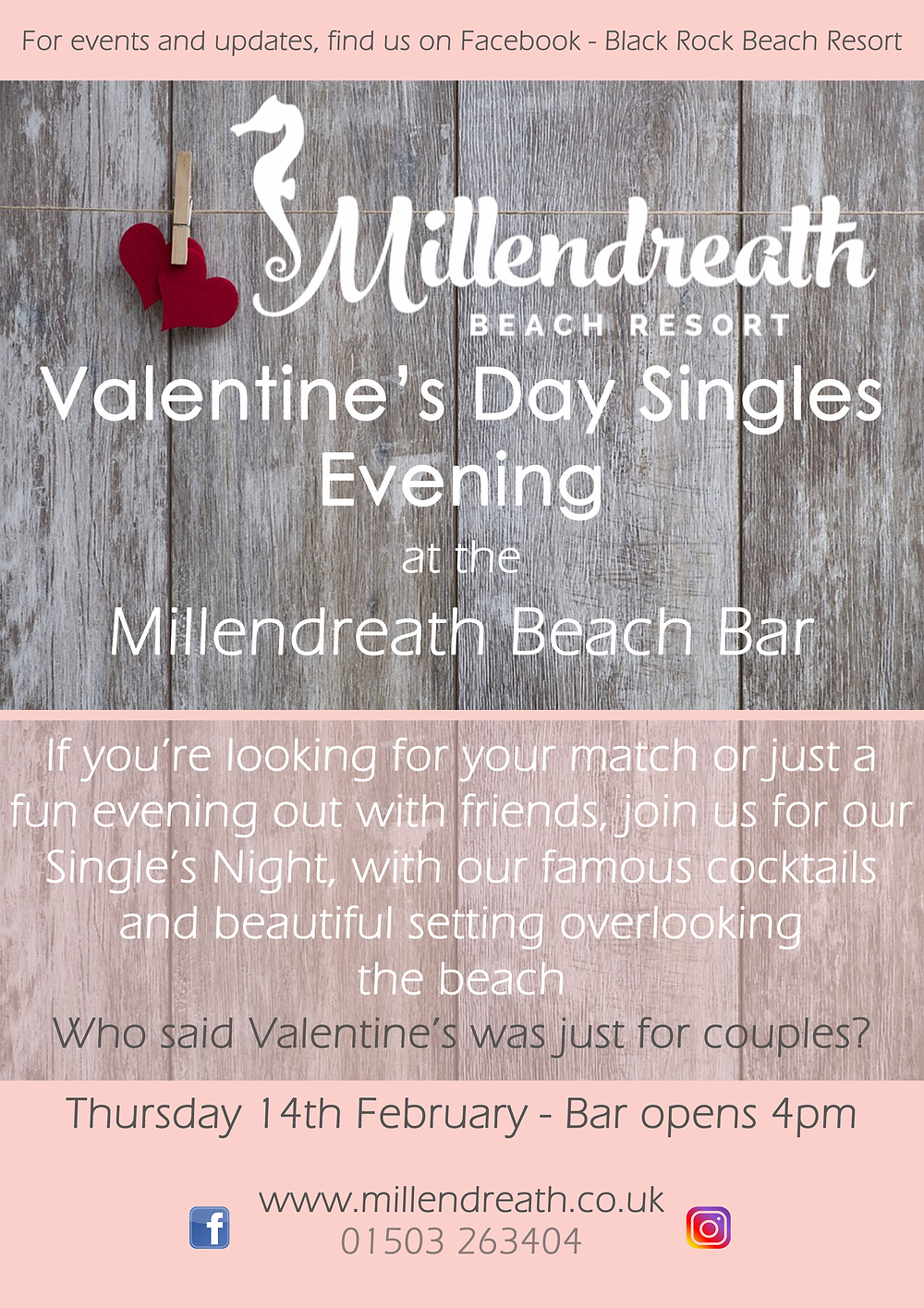 #valentinesday #february14th #valentine #millendreath #brbcornwall #blackrockbeachresort #millendreathbeach #blackrockcornwall #blackrock #looe #cornwall #placestoeatlooe #placestoeatcornwall #valentinesmenu #cornishproduce #food #drink #thingstodoincornwall #singlesnight #tapas