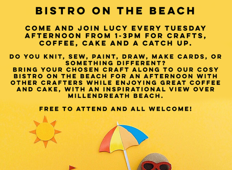 Crafternoons by the beach