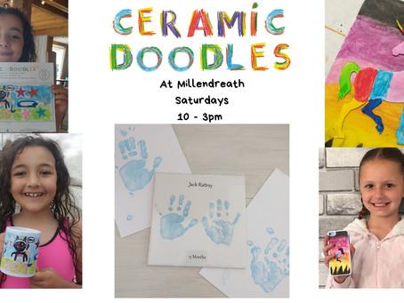 Kids crafts on a rainy day