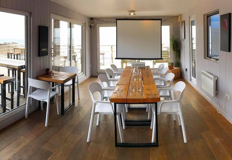 Our Beach Bar is available for hire to use board room style or theatre style for all your meeting needs