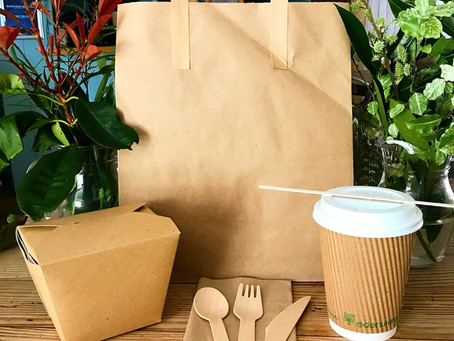 Our sustainable take away packaging
