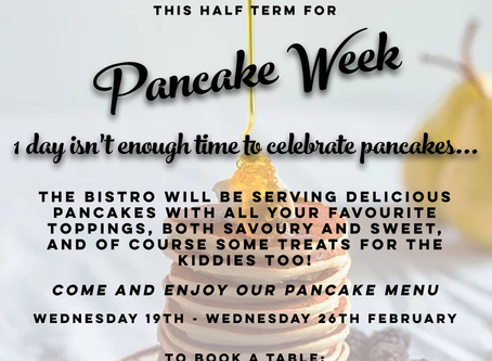 Looking forward to Shrove Tuesday? How about a pancake week?