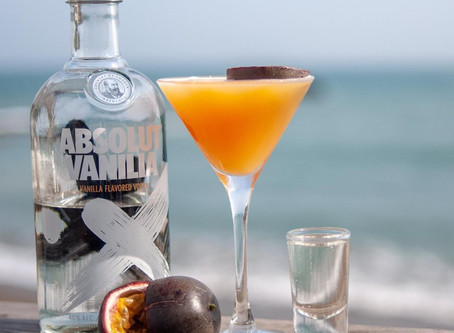 Cocktails by the sea...