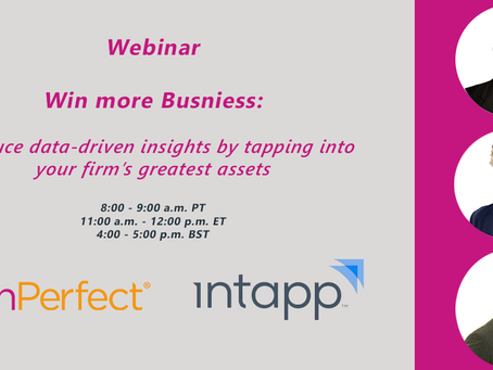 Win more business: Produce data-driven insights by tapping into your firm's greatest assets