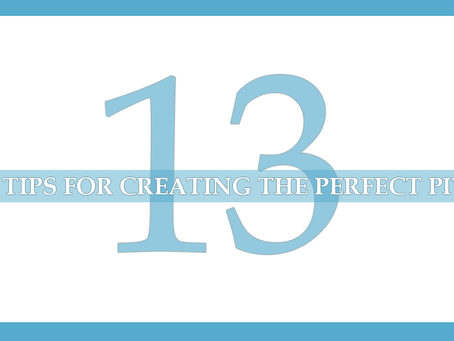 Top Tips For Creating The Perfect Pitch