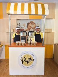 Puffles Milktea foodcart