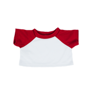 16 Inch White and Red Tshirt.png