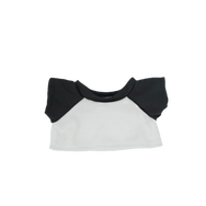 8 Inch White and Black TShirt.png