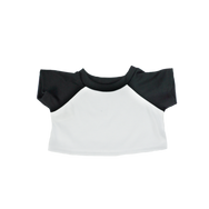 16 Inch White and Black TShirt.png