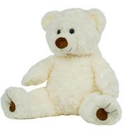 White Twist Bear 16in