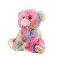 Rainbow Bear 8in