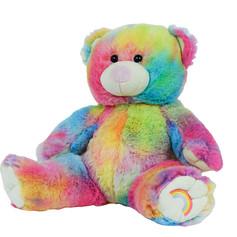 Rainbow Bear 16in