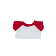 8 Inch White and Red T Shirt.png